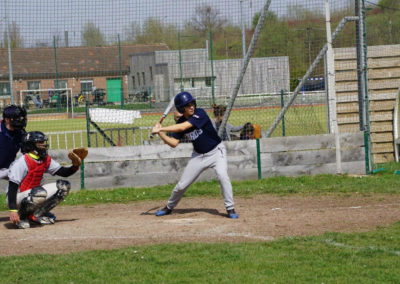 baseball senior journee 1 saison 2018 2